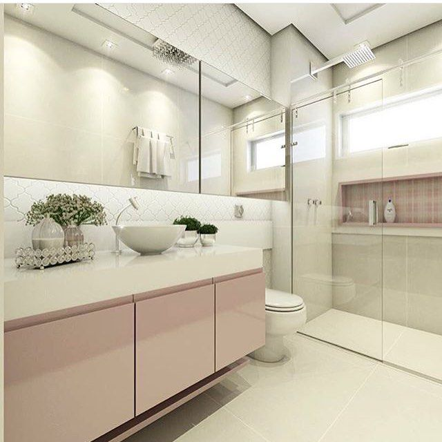 Perfeito min para você e para nós este banheiro  Quartos Lindos  Pinterest -> Pia De Banheiro Rosa