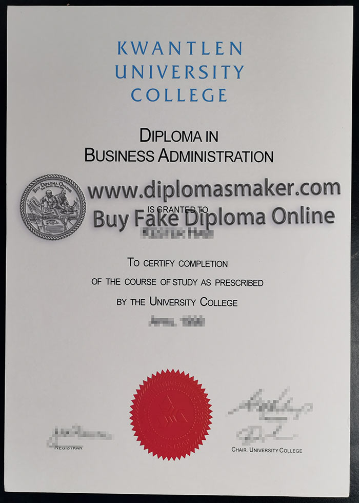 Kwantlen Polytechnic University Degree Kpu Fake Diploma For Sale University Degree University Diploma College Diploma