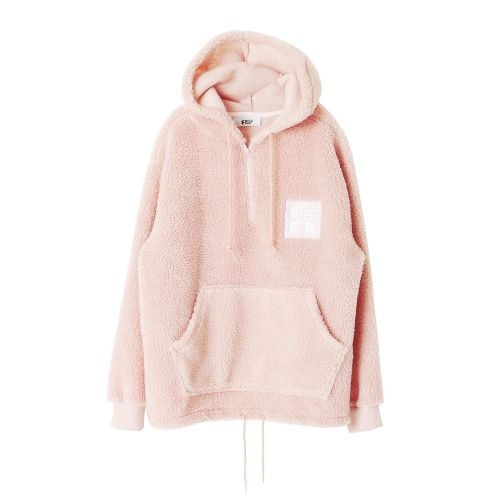 BABY PINK FLEECE PULLOVER | Wants | Pinterest | Pullover