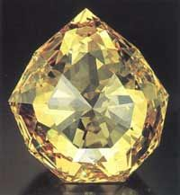 The Florentine Diamond: Famous Large Diamonds - Chatelaine's Gemstones, Antiques and Appraisals Magazine