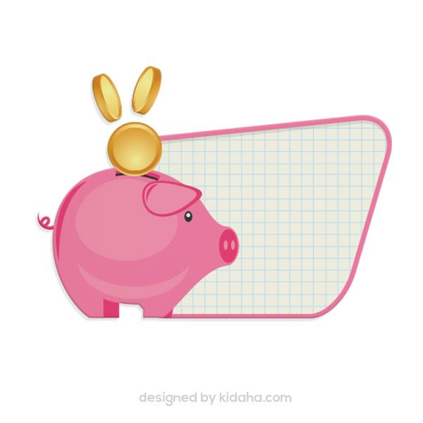 Free Piggy Bank Clip Arts For Kids Parents And Teachers Free Download Clipart File Include Free Png Transparent Education Clipart Free Kids Free Clip Art