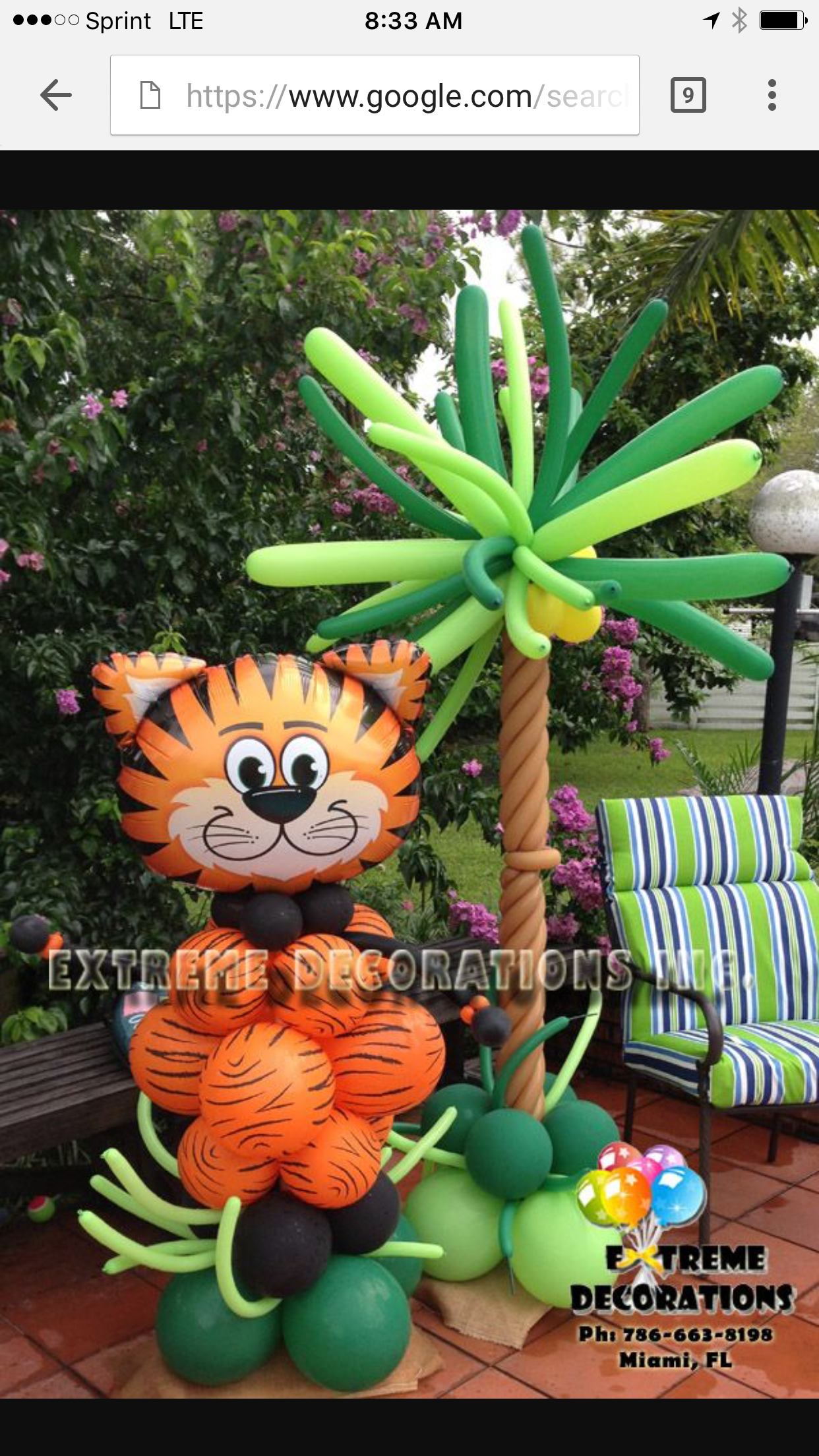shower baby theme home decorations party jungle ideas centerpieces decor