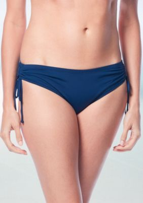 Beach House Women s Solid Adjustable Side Tie Swim Bottom - Admiral - 16 0a67be71c
