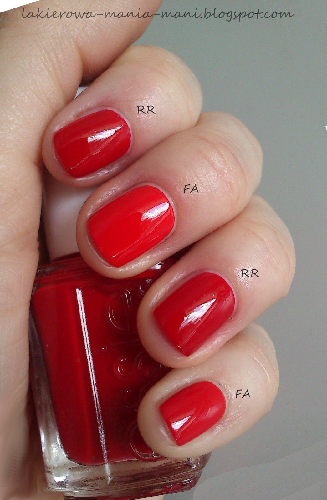 essie fifth avenue vs essie russian roulette | esmaltes | Pinterest