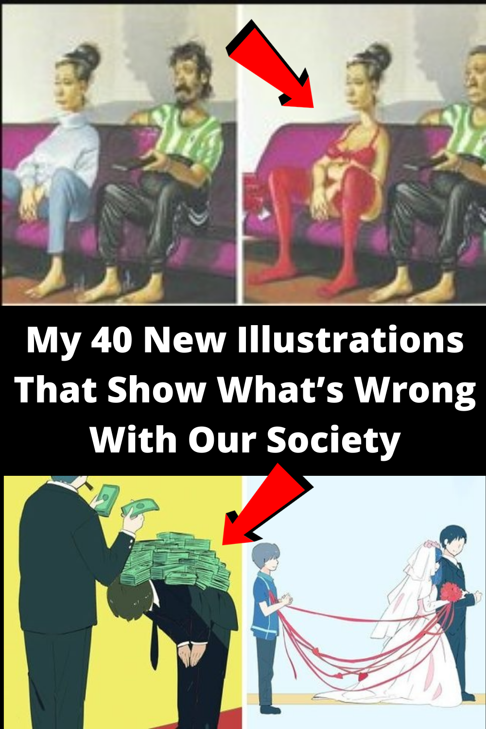 My 40 New #Illustrations That #Show What's #Wrong With Our #Society