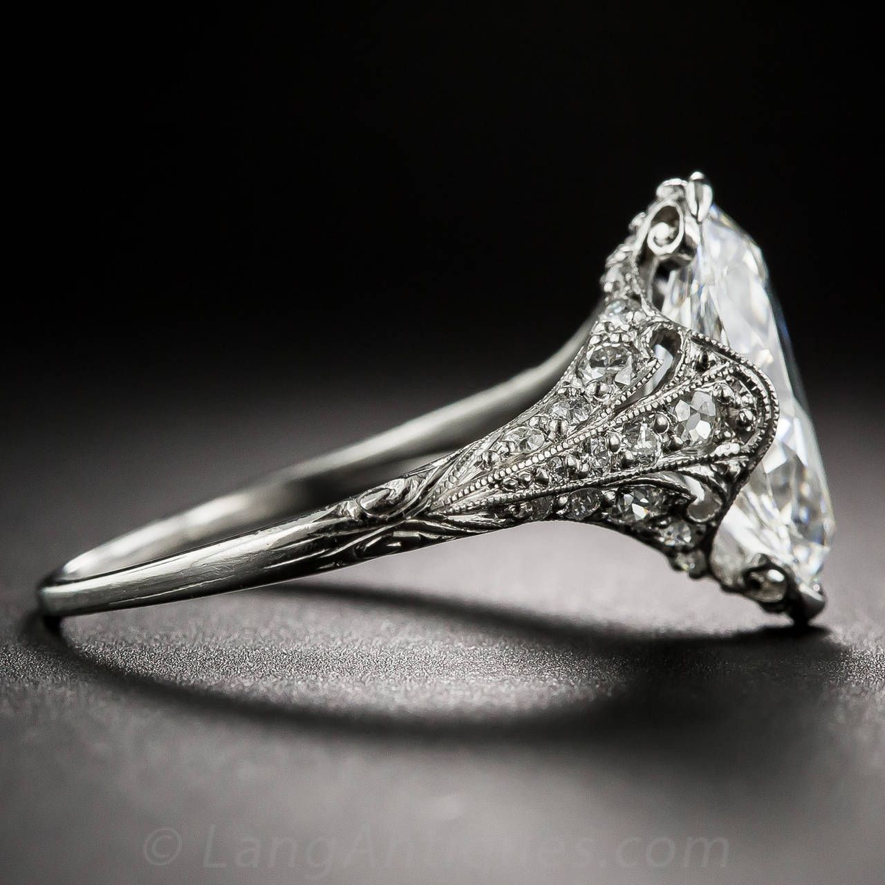 tiffany and co edwardian carat marquise diamond platinum ring marquise diamond platinum. Black Bedroom Furniture Sets. Home Design Ideas