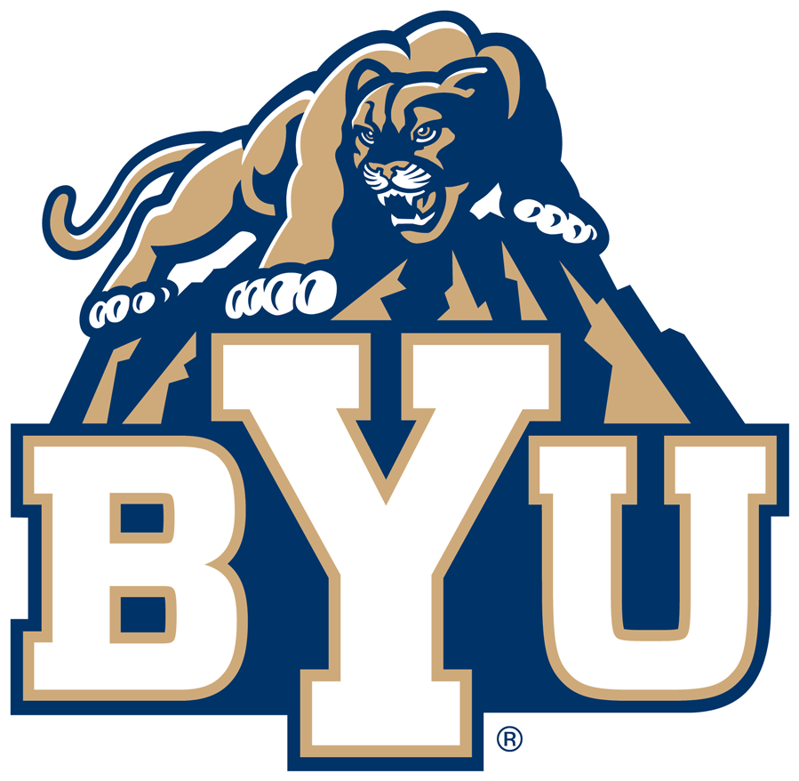 Pin By Catlien Kettle On Collage Byu Cougars Byu Football College Football Logos