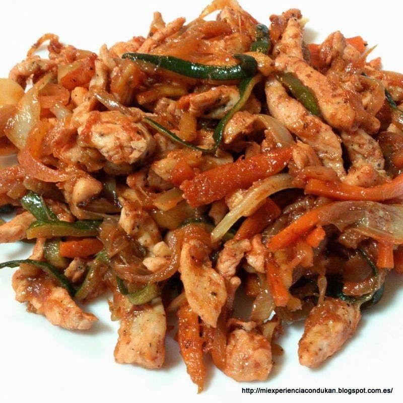 Pollo salteado con verduras miexperienciacondukan - Cocinar verduras para dieta ...