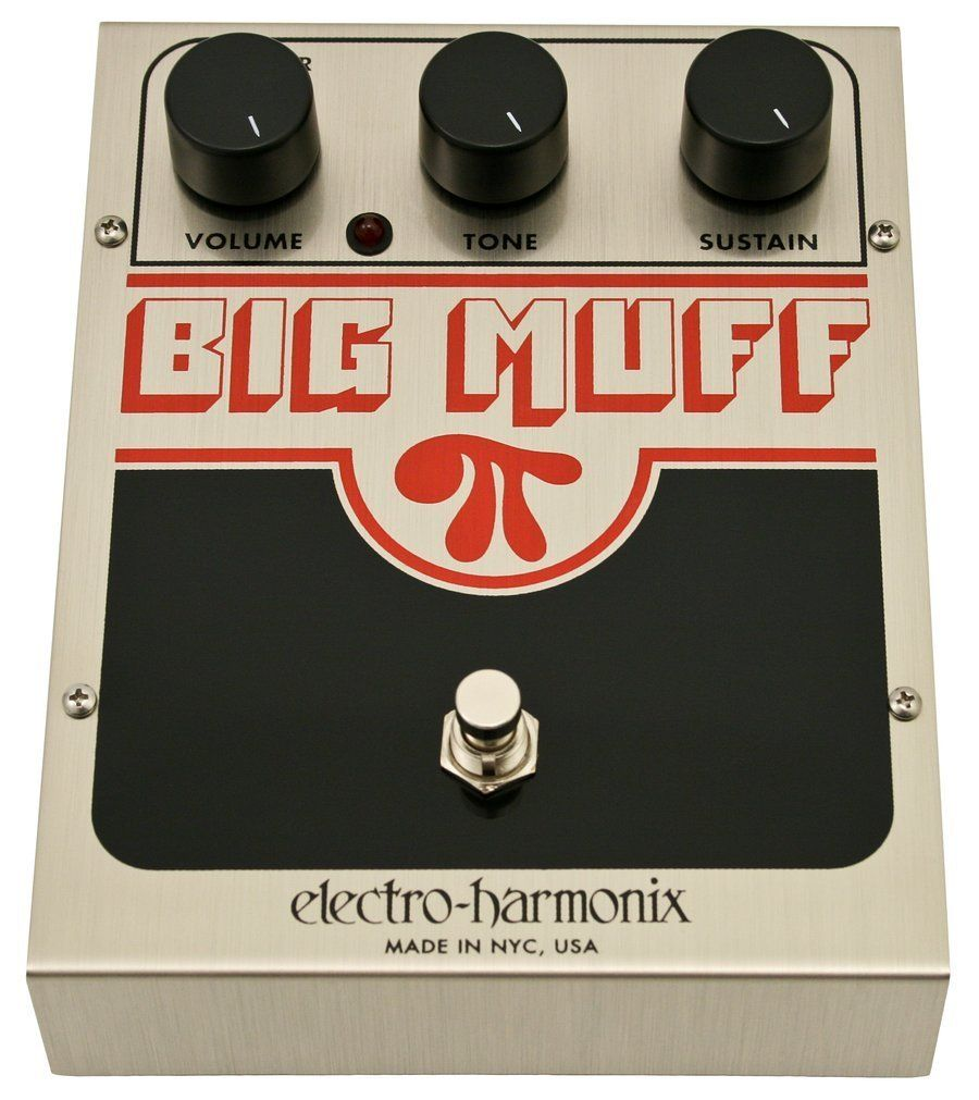 electro harmonix usa big muff fuzz pedal in 2019 great guitar pedals guitar pedals guitar. Black Bedroom Furniture Sets. Home Design Ideas