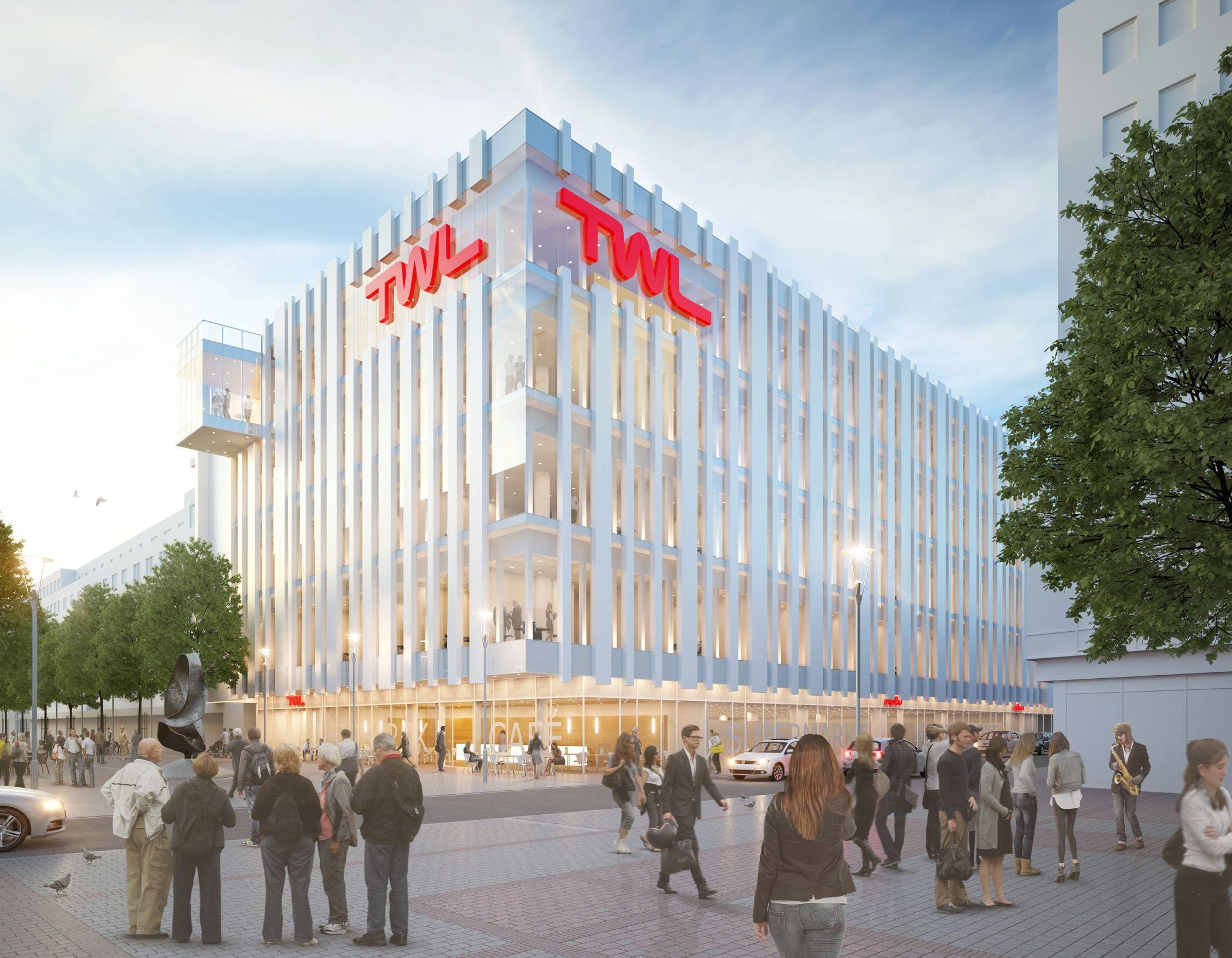 Architekten Ludwigshafen umbau twl ludwigshafen raumlabor3 architekturvisualisierung