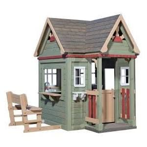wooden playhouse kits - Google Search