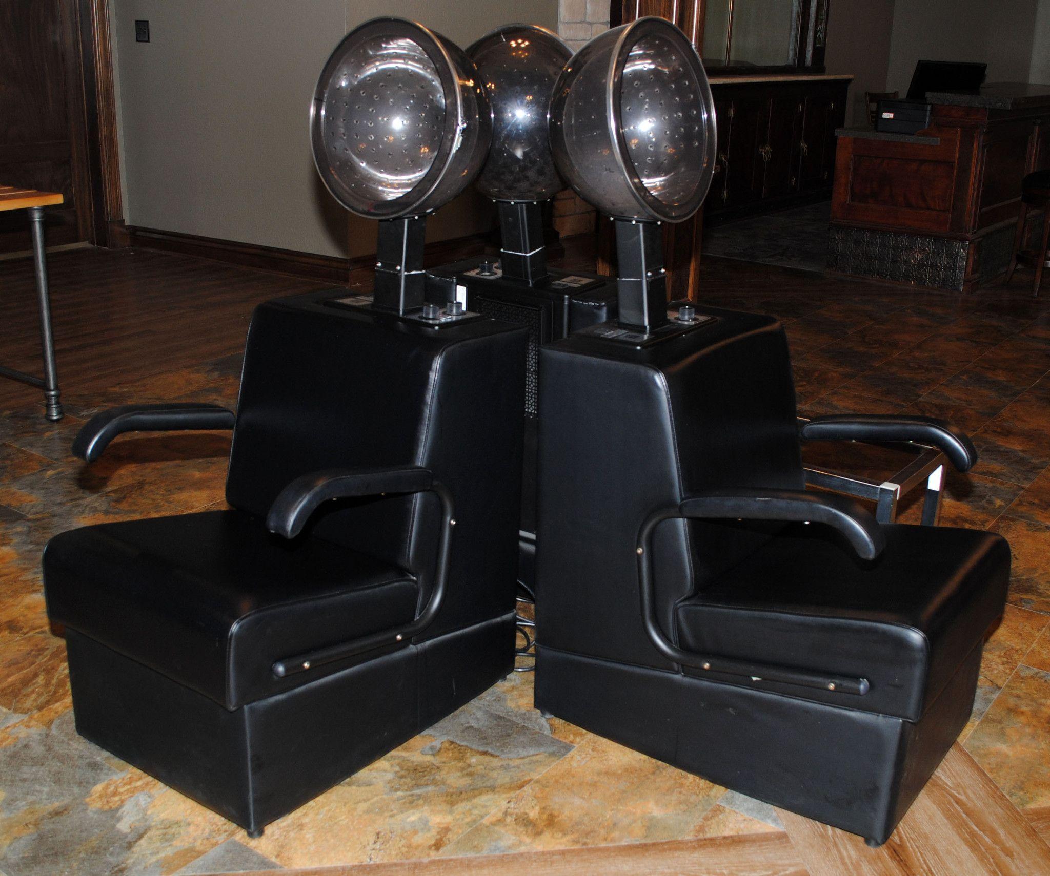 Econo Dryer Chair with Jeffco Dryer Hair salon decor