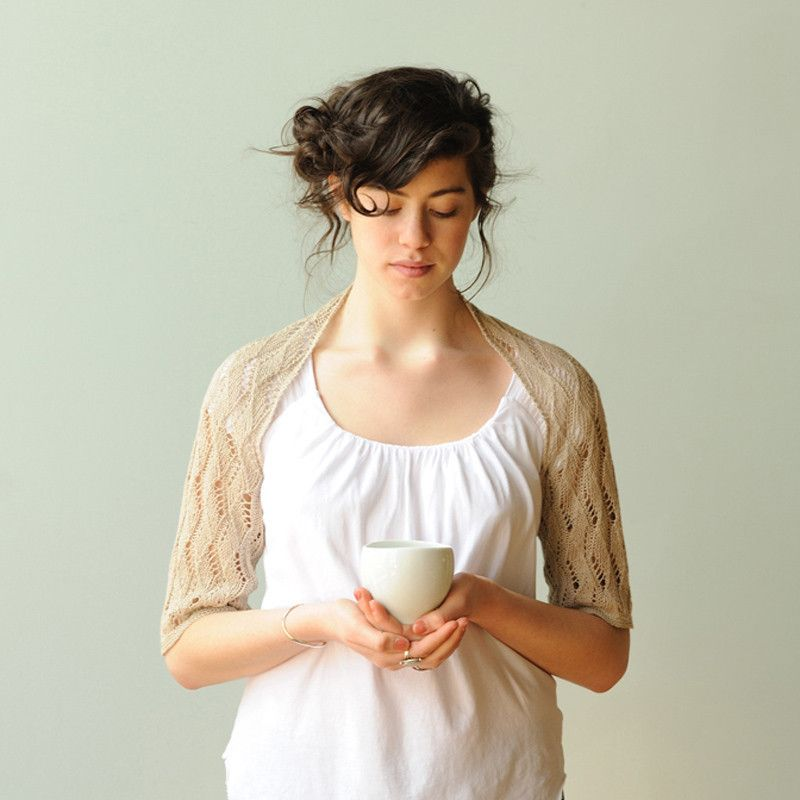 quince & co. - emma shrug pattern by carrie bostick hoge | knitting ...