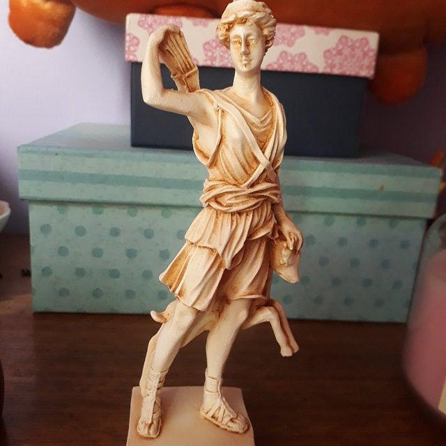 Athena Pallas, Artemis and Persephone greek statue figure NEW patina #greekstatue
