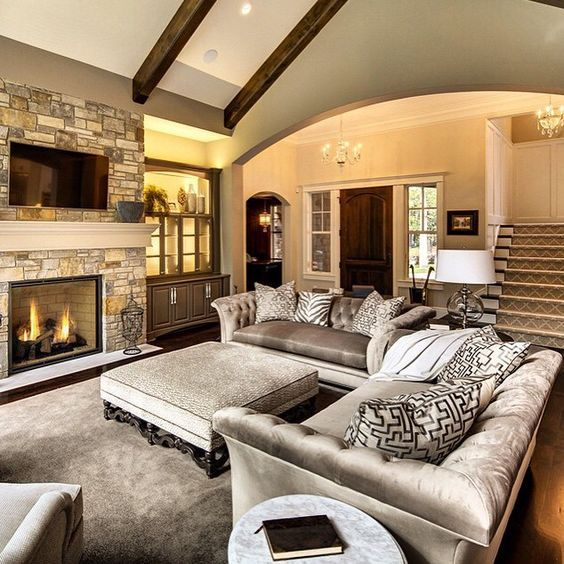 26 Family Room Tv And Fireplace Layout Ideas Fireplaces Layout Livingroom Layout Room Layout