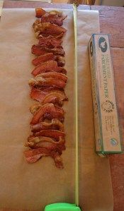 done it, it works. , quite tasty! I will do it again..HH.. pressure canned bacon.... this way seems to make sense.