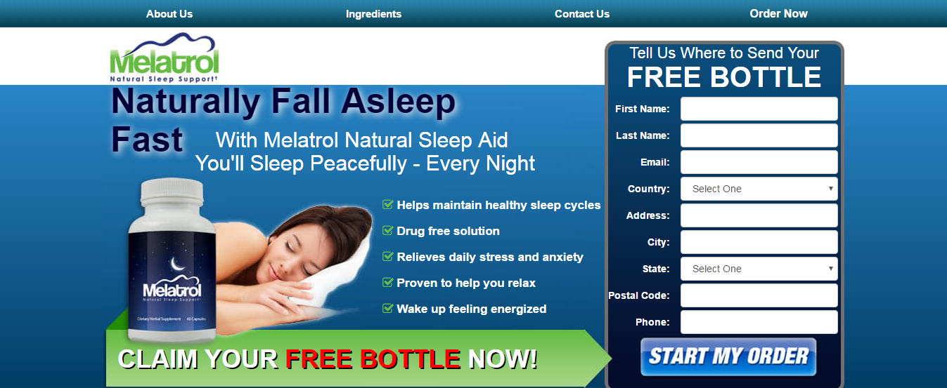 Melatrol Natural Sleep Aid Helps With That Loss Of Sleep Problem If You Are Having Sleepless Nights Tossing And