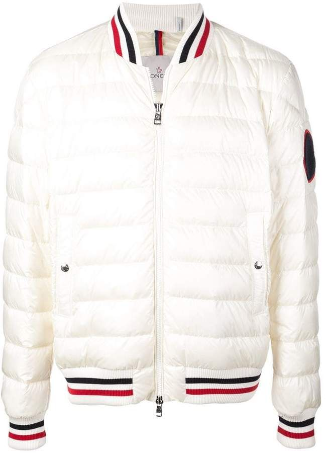 eb6164d4c Moncler padded bomber jacket in 2019   Products   Jackets, Bomber ...