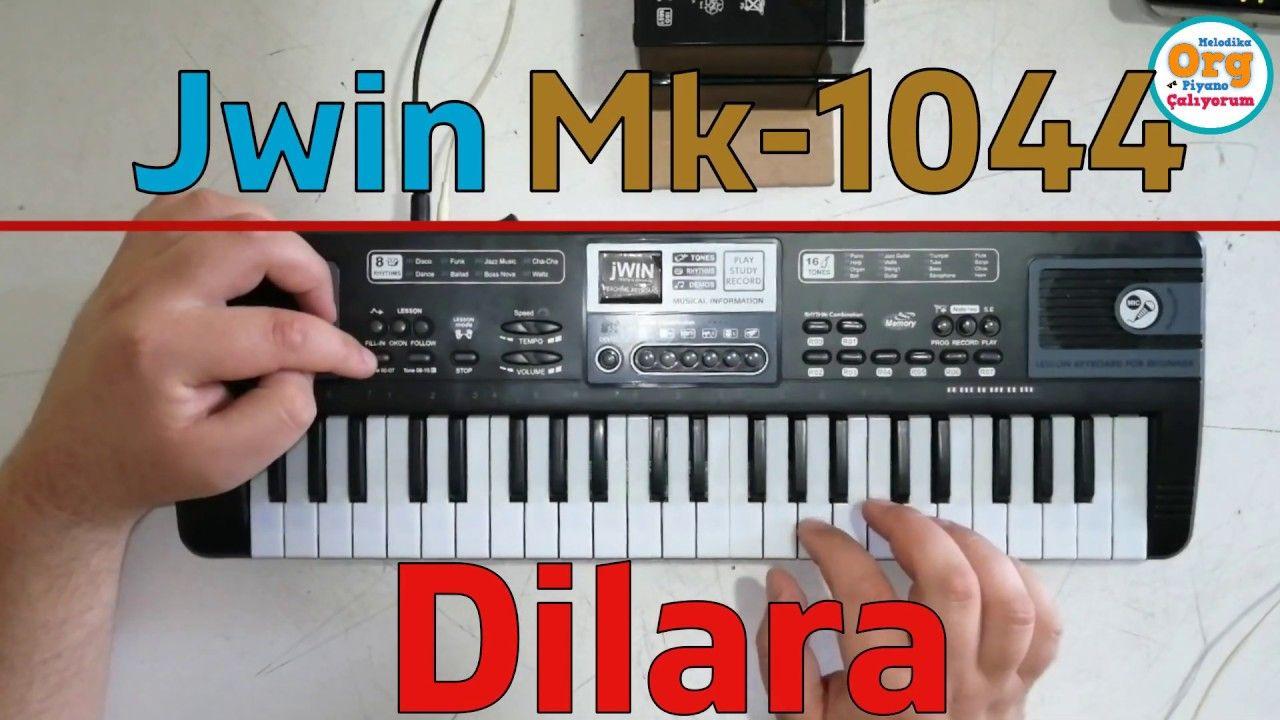 Jwin Mk 1044 Orgla Dilara Oyun Havasi Nasil Calinir Oyun Piyano