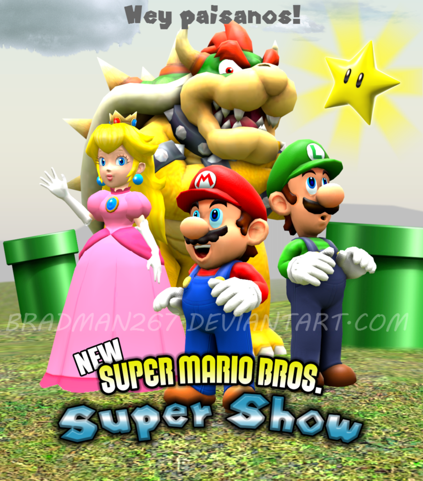 New Super Mario Bros Super Show By Bradman267 On Deviantart