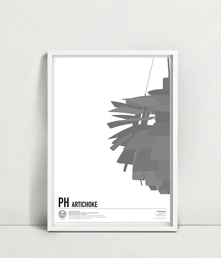 Introducing The All New Pk18 Poster Special Edition Ph Artichoke Lamp Limited Edition Numbered Only 200 Copies Digital Poster Prints Sale Artwork Artwork