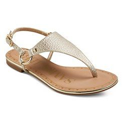 0dde9951f786 Women s Sam   Libby Harmony Thong Sandals - Gold