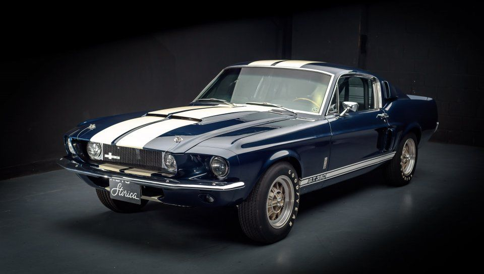 Navy Blue Ford Mustang Shelby Gt500 Wallpaper With Images