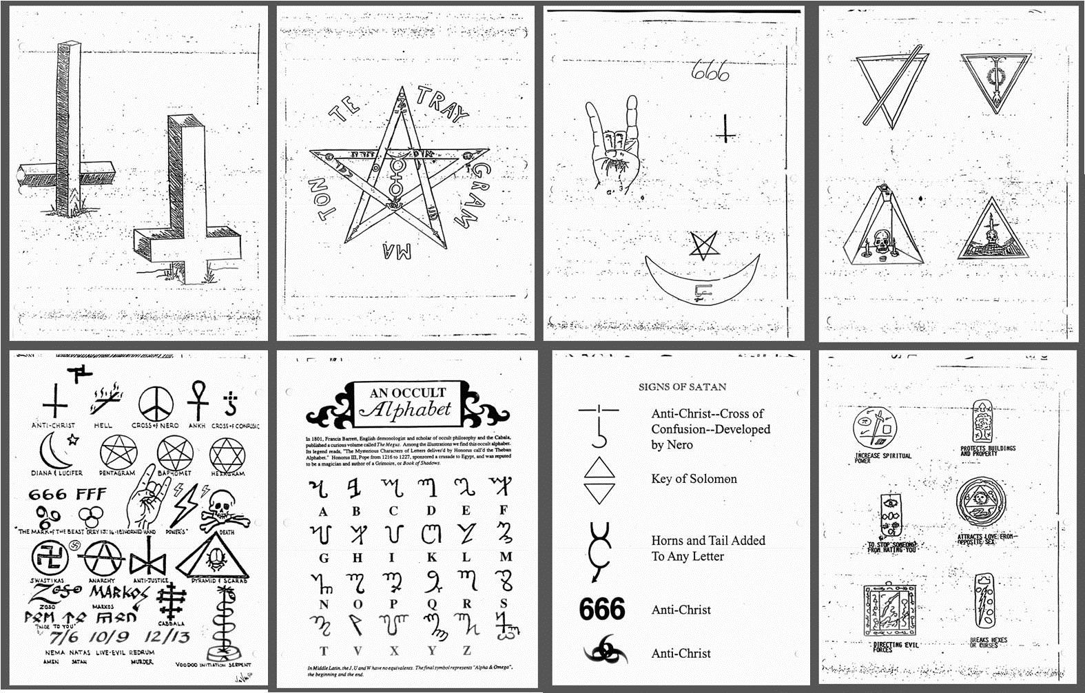 What are some satanic symbols devils and demons pinterest what are some satanic symbols biocorpaavc Choice Image