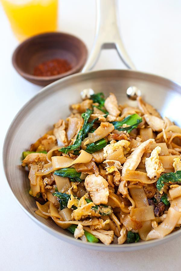 Pad see ew popular thai rice noodles with chicken and vegetables pad see ew popular thai rice noodles with chicken and vegetables easiest and best thai food recipesasian forumfinder Gallery
