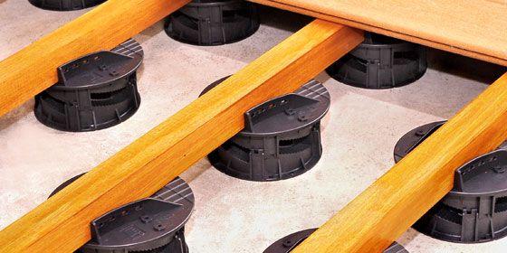plot-reglable-terrasse-happax Maisons Pinterest - terrasse bois sur plots reglables