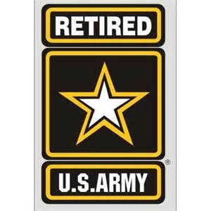 ARMY RETIRED METAL NOVELTY LICENSE PLATE TAG FOR CARS US ARMY
