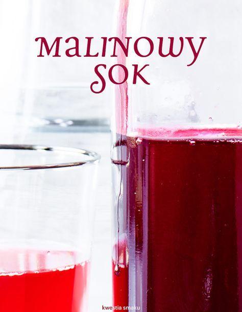 Sok malinowy - najlepszy na jesień. http://womanmax.pl/sok-malinowy-najlepszy-jesien/