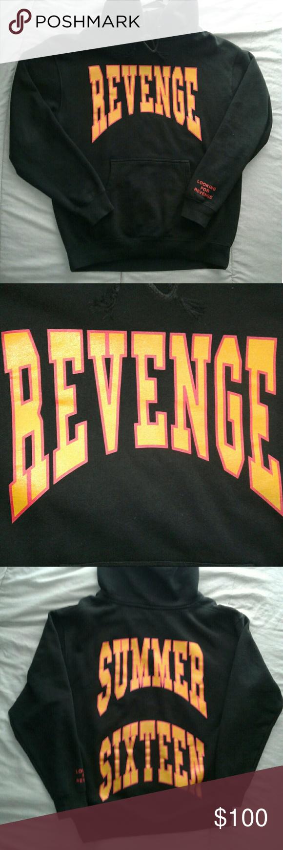 d22166482d45 Drake OVO Summer Sixteen Revenge Concert Hoody Drake OVO Summer Sixteen  Looking For Revenge Tour Hoody OVO Sweaters