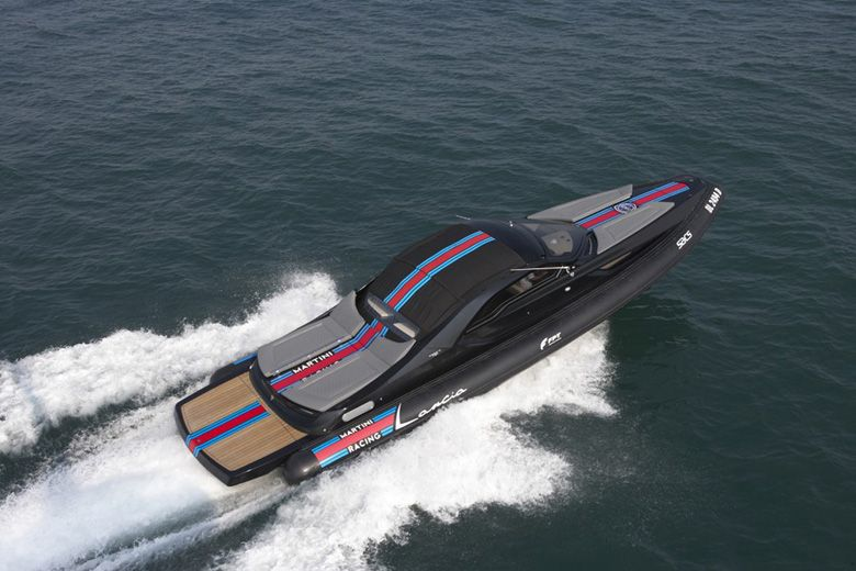 Lancia Martini Racing Speed Boat Cool Power Boats