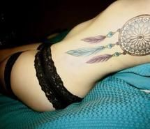 Inspiring image dreamcatcher, girl, ink, pretty #687810. Resolution: 490x326px. Find the image to your taste!
