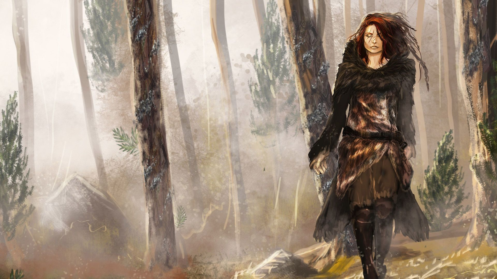 #witch #barbarian #druid