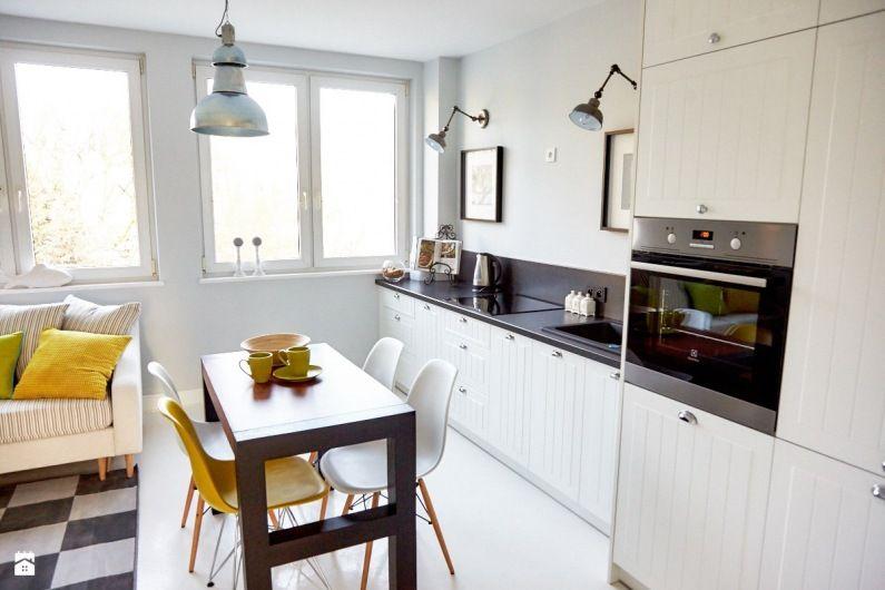 Zdjecie Kuchnia Polaczona Z Pokojem Dziennym Kitchen Inspirations Home Decor Kitchen