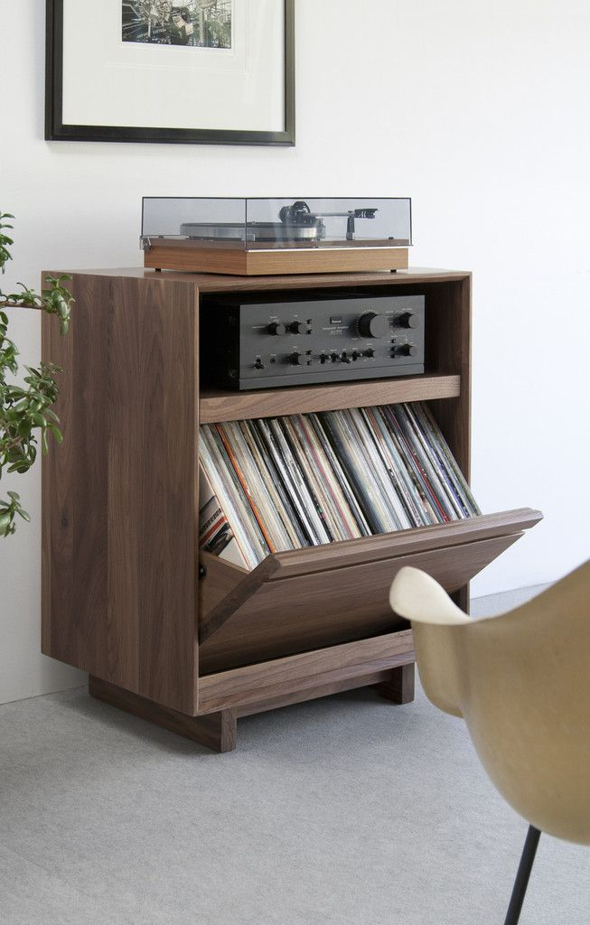 Pin By Zorka Srnka On Vintage Hi Fi Audio Lp Storage Cabinet Home Vinyl Storage