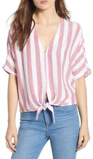 0ddb661345eb76 Rails Thea Tie Waist Blouse | Fashion trends in 2019 | Blouse ...