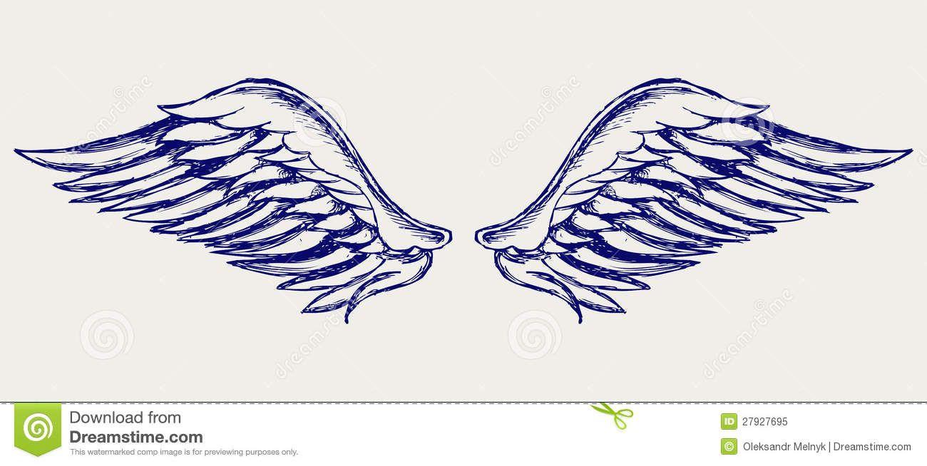 Clip Art Design Angel Wings