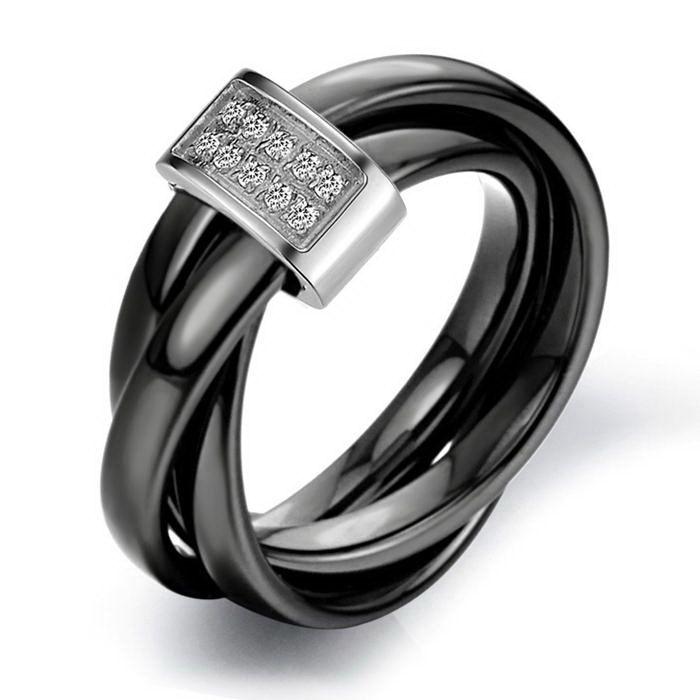 httpaliexpresscom buy new design classic black tungsten trinity rings