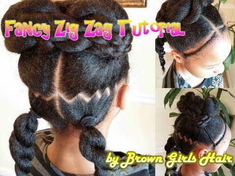 Fancy Zig Zag Ponytails Tutorial Natural Hair Styles Girl Hairstyles Teenage Hairstyles