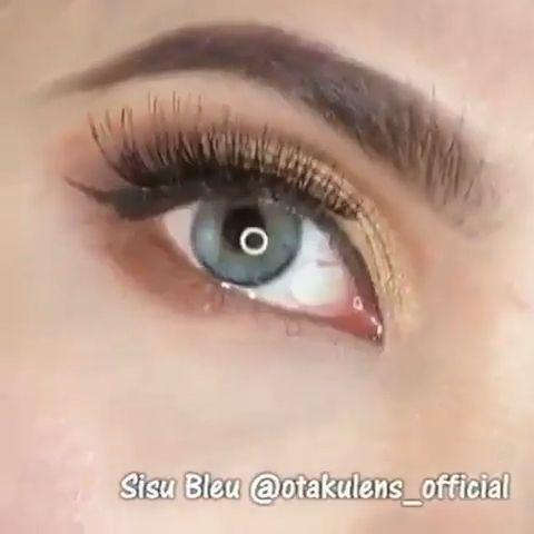 Signature Series contacts on dark brown eyes. YAY or NAY? 👀 1. Otaku #SisuBleu 2. Otaku #SmokeyGreyyen Our gorgeous giveaway winner @loveleehesper 💕 #otakulens_official #eyes #contactlens #coloredcontacts #softlens