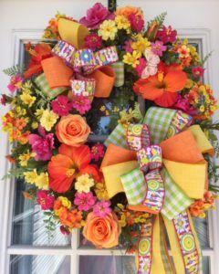 Photo of Summer Grapevine Wreath Tutorial