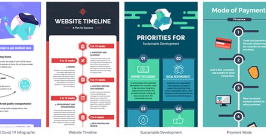 كيف تنشئ إنفوجرافيكس احترافي اونلاين لمدونتك باستخدام Designcap How To Create Infographics Infographic Blog
