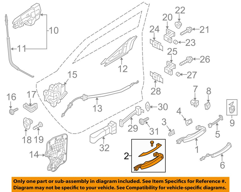 Ebay Sponsored Audi Oem 11 14 A8 Quattro Outside Exterior Door Handle Right 4h0837206bgru Exterior Door Handles Parts And Accessories Things To Sell