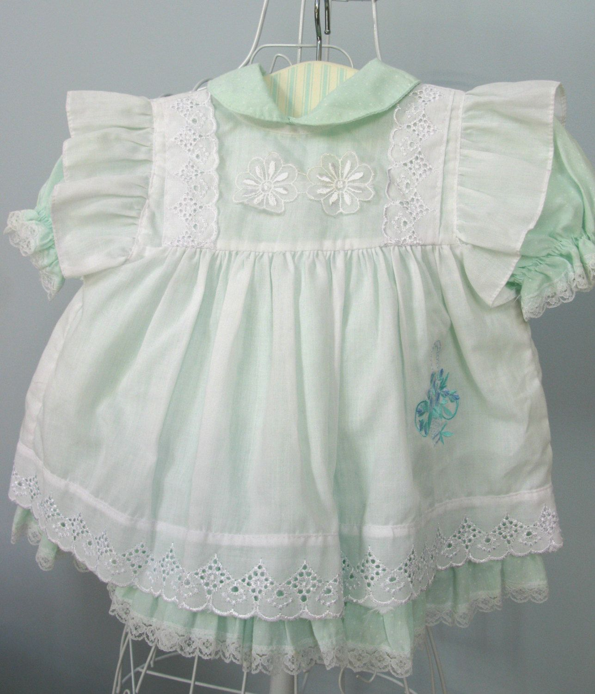 Telsalda Baby Dress Vintage Baby Dress 3 6 Months Dress
