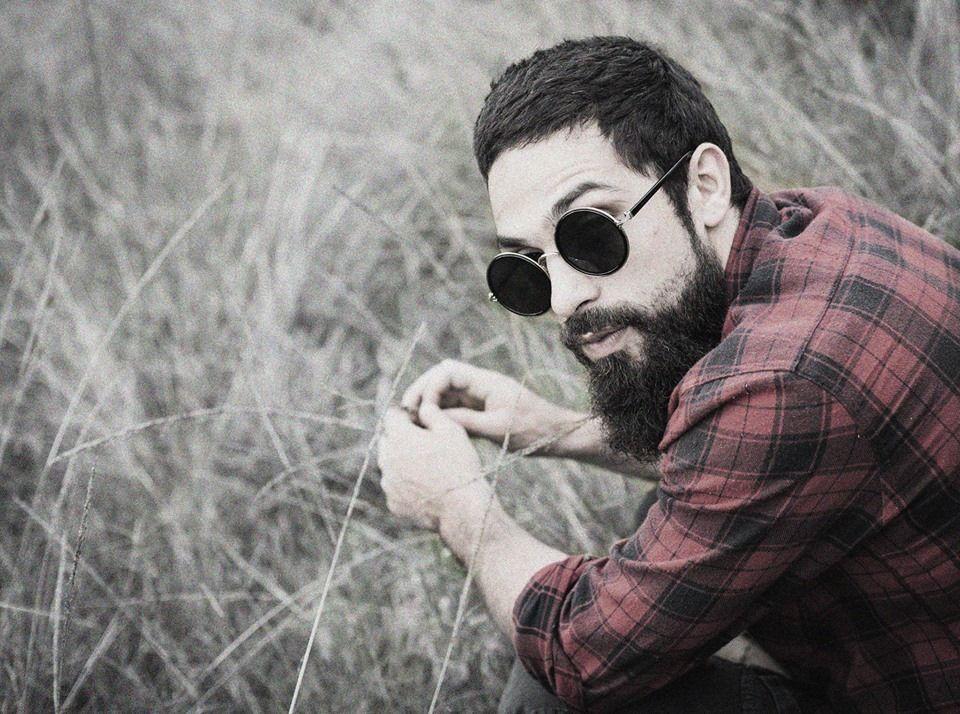 beard, sunglasses