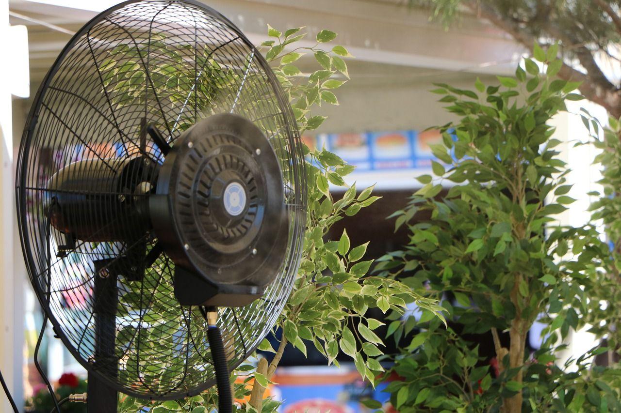 Truco para ocultar la máquina de aire acondicionado