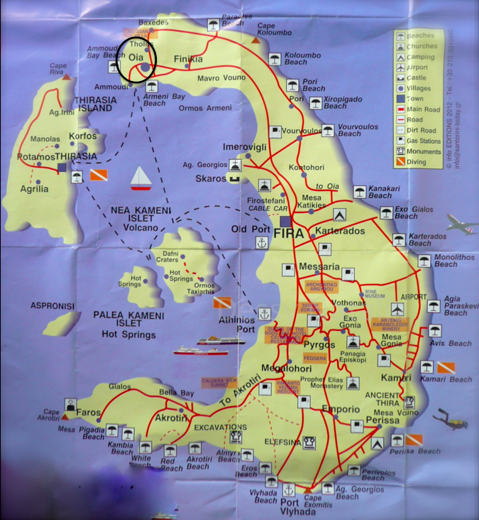 Pin by Jasmina Stoilova on Travel Maps and Tips in 2019 ... Santorini Map on map of greece, paros map, mycenae map, milos map, fira map, greek islands map, kos map, europe map, athens map, oia map, skiathos map, lesvos map, ithaca map, lefkada map, mykonos map, rhodes map, cyclades islands map, corfu map, zakynthos map, corfu town map, kefalonia map, naxos map, skopelos map, greece map, crete map, patmos map, thira map, leros map, mediterranean cruise map, chania map,